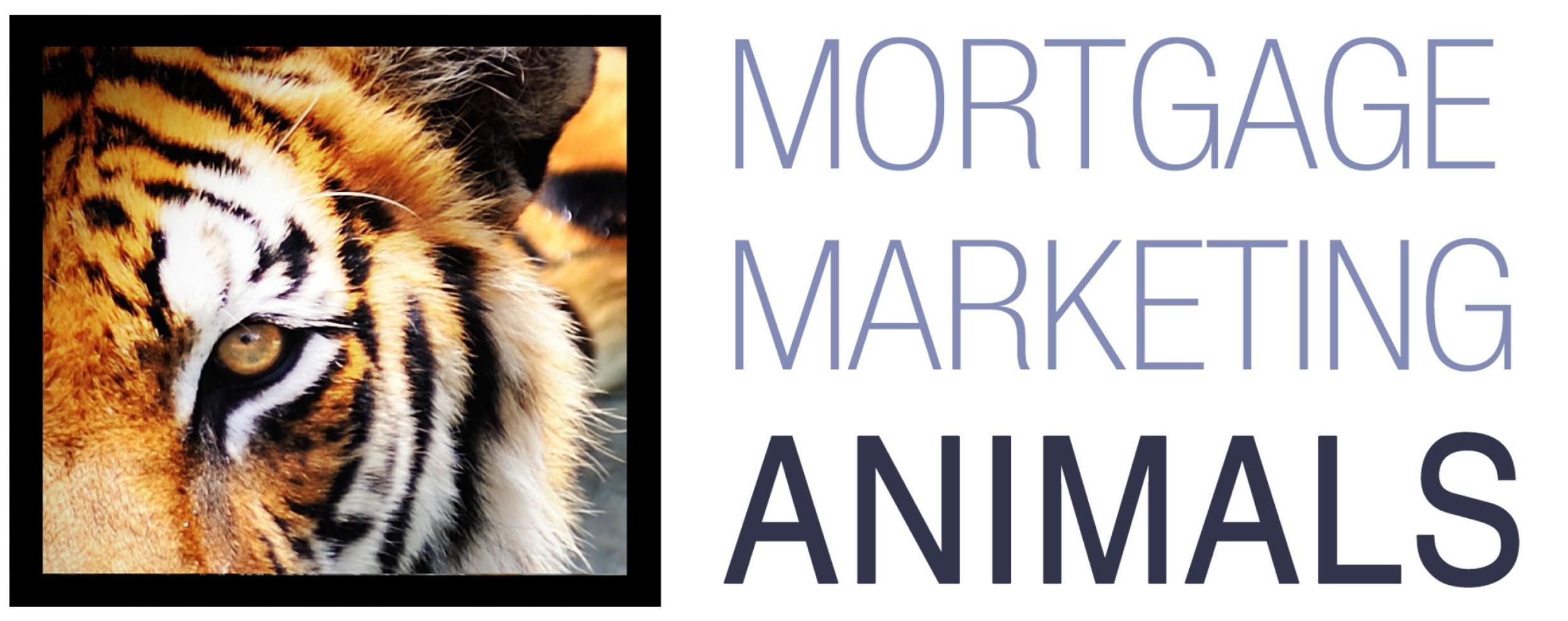 mortgage marketing animals logo